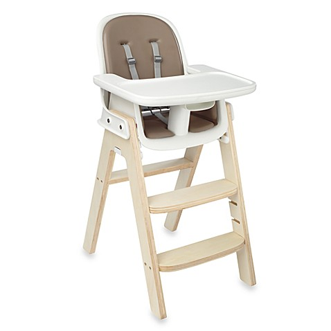 Oxo Tot 174 Sprout High Chair In Taupe Birch Buybuy Baby