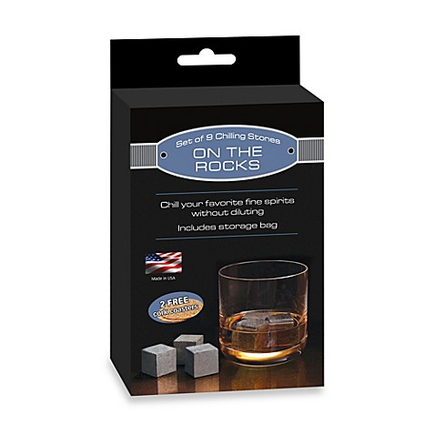 "TableCraft® ""On The Rocks"" Chilling Stones (Set of 9)"