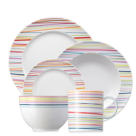 Rosenthal Thomas Sunny Day Stripes Dinnerware  sc 1 st  Bed Bath u0026 Beyond & Rosenthal Thomas Sunny Day Stripes Dinnerware - Bed Bath u0026 Beyond