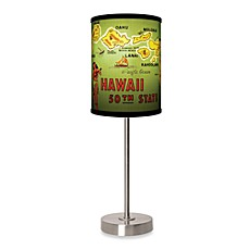 image of Hawaii Table Lamp with Brushed Nickel Base