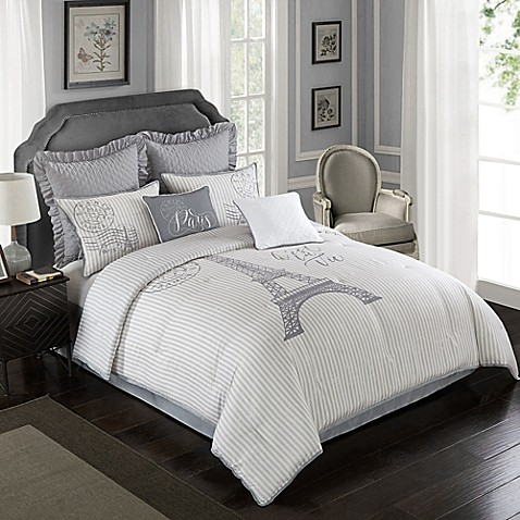 Farmhouse Paris Comforter Set Bed Bath Amp Beyond