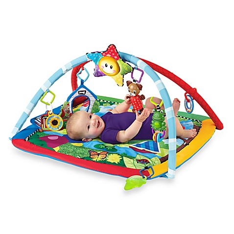 Baby Einstein Caterpillar And Friends Play Gym Bed