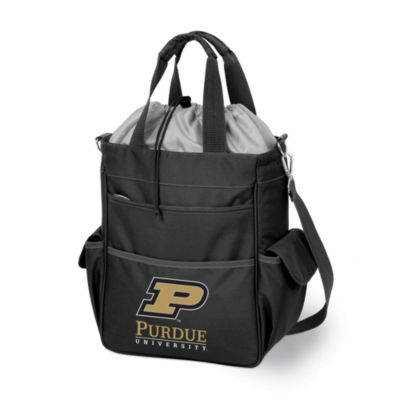 image of Picnic Time® Purdue University Collegiate Activo Tote in Black