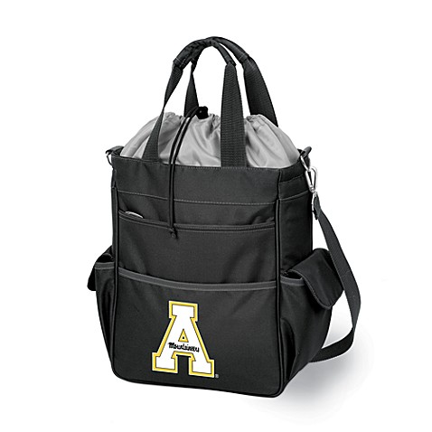 Picnic Time® Appalachian State Collegiate Activo Tote in Black