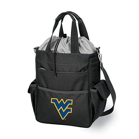 West Virginia University Picnic Time® Collegiate Activo Tote in Black