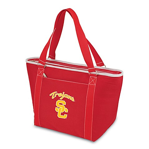 Picnic Time® University of Southern California Collegiate Topanga Cooler Tote in Red