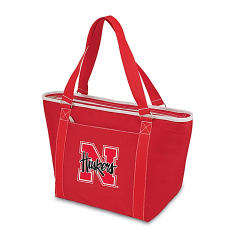 Picnic Time® University of Nebraska Collegiate Topanga Cooler Tote in Red