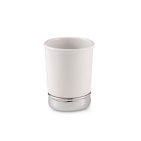 York white tumbler bed bath beyond for White bathroom tumbler