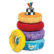 image of Lamaze® Rainbow Stacking Rings