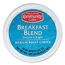 image of 36-Count Community Coffee® Breakfast Blend Coffee for SIngle Serve Coffee Makers