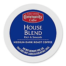 image of 18-Count Community Coffee® House Blend for Single Serve Coffee Makers