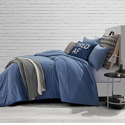 Style Co Op Jersey Blue Jean Comforter Set