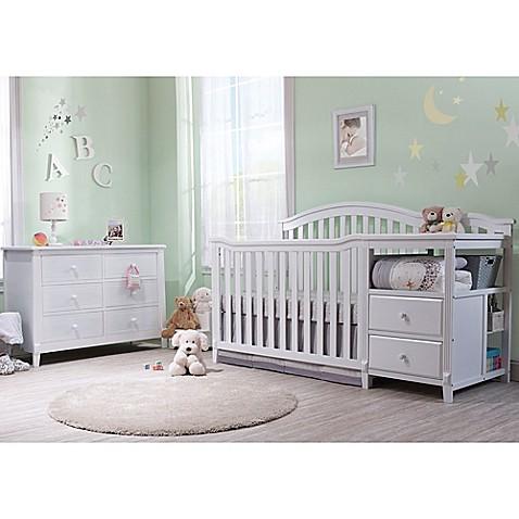 Sorelle Berkley Crib Changer Nursery Furniture Collection