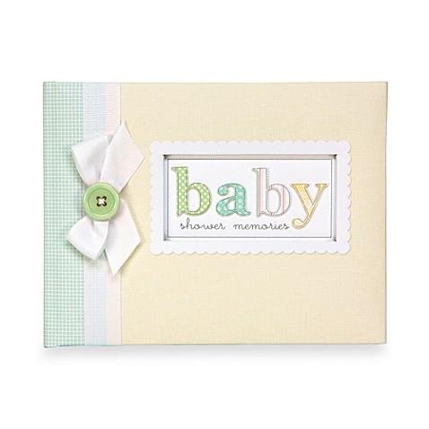 gibson baby shower keepsake memory book bed bath beyond