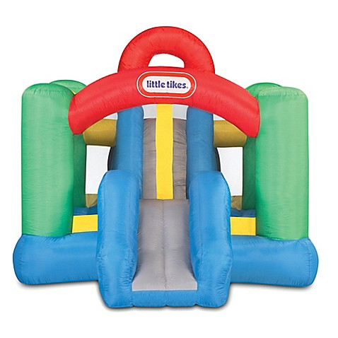 Little Tikesu0026reg; Jump U0026#39;n Double Slideu0026trade; Bouncer