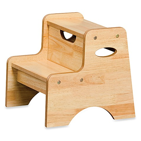 Stools Gt Kidkraft 174 Two Step Stool In Natural From Buy Buy Baby
