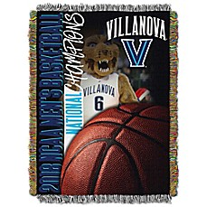 image of Villanova University 2018 NCAA National Champions Tapestry Throw Blanket