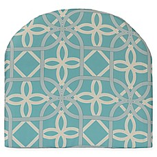image of Commonwealth Home Fashions Keene Outdoor Arm Chair Cushion in Aqua
