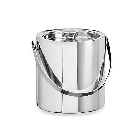 Kraftware™ 1.5-Quart Insulated Ice Bucket in Polished Stainless Steel