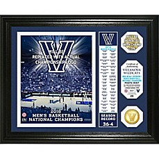 image of Villanova University 2018 National Champions Men's Basketball Banner Coin Frame