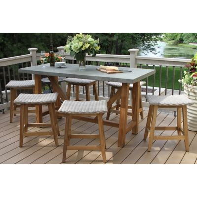 Patio Furniture Sets - Chair Pads, Seat Cushions & more - Bed Bath ...