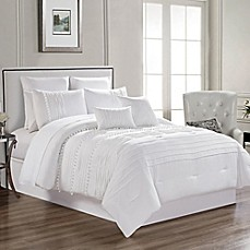 image of Zoey 12-Piece Comforter Set in White