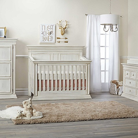 Baby Cache Vienna Nursery Furniture Collection in Antique White - Baby Cache Vienna Nursery Furniture Collection In Antique White