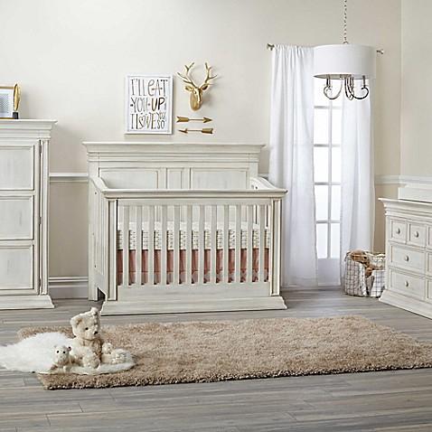 Baby Cache Vienna 4-in-1 Convertible Crib in Antique White - Baby Cache Vienna 4-in-1 Convertible Crib In Antique White - Buybuy BABY