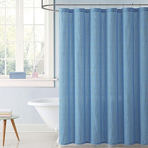 Truly Soft Everyday Gingham Shower Curtain - Bed Bath & Beyond