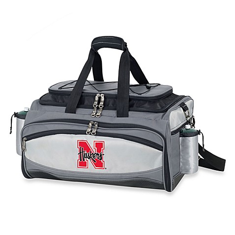 Picnic Time® Collegiate Vulcan BBQ & Cooler Set - University of Nevada