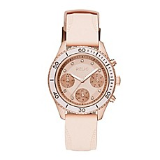 image of Relic® Jean Ladies' 38mm Chronograph Watch in Rose Gold Stainless Steel
