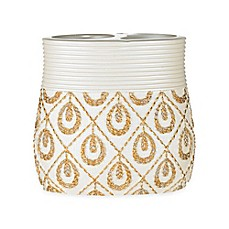 image of Seraphina Toothbrush Holder in Beige/Gold