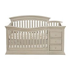Bon Sorelle Sedona 4 In 1 Convertible Crib And Changer In Rustic Taupe