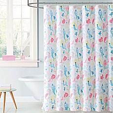 Laura Hart Kids Mermaids Shower Curtain