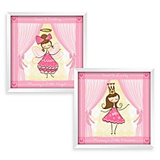 image of Wall Art in Princess (Set of 2)