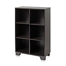 image of Real Simple® 6-Cube Storage Unit in Espresso