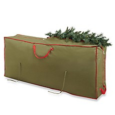image of Real Simple® Holiday Deluxe Tree Storage Bag with Wheels