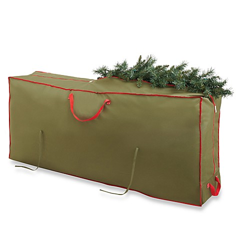Image Of Real Simple Holiday Deluxe Tree Storage Bag With Wheels