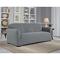 perfect fit neverwet luxury sofa slipcover - Slipcover Sofa