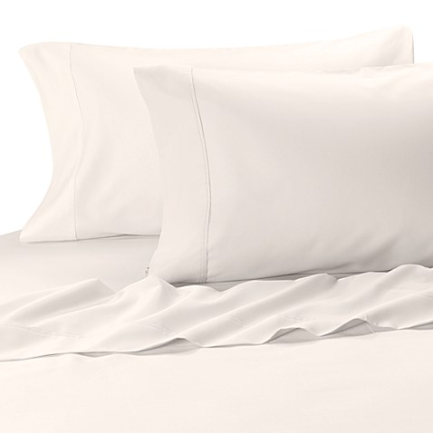 MicroTouch Sateen King Pillowcase (Set of 2) in White