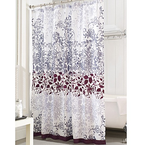 purple and brown shower curtain. Enchanted Purple 72 Inch x Shower Curtain  Bed Bath Beyond