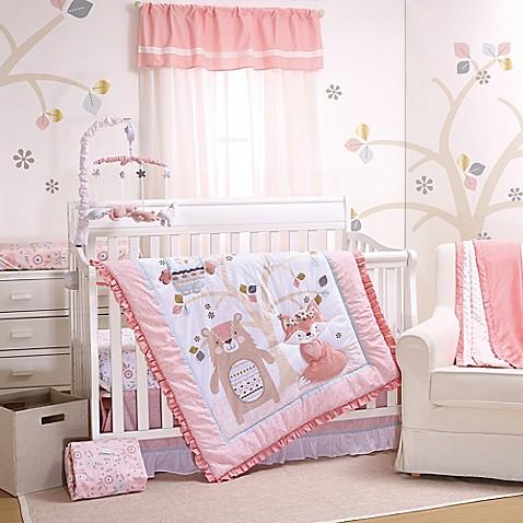 Little Haven Woodland Friends 3 Piece Crib Bedding Set In