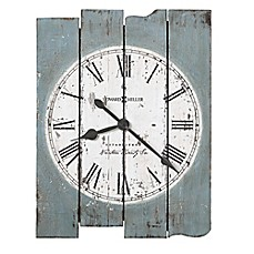 image of Howard Miller® Mack Road Wall Clock in Antique Blue