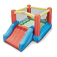 image of Little Tikes® Jr. Jump 'N' Slide Inflatable Bounce House