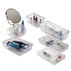 image of InterDesign® Vanity Organizer!™ Rain Collection