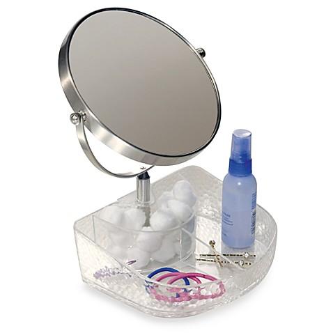 Interdesign 174 Vanity Organizer Rain Clear Cosmetic Tray