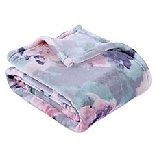 image of Berkshire Blanket® Ultra VelvetLoft® Printed Throw Blanket