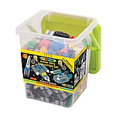 image of WABA Fun 334-Piece Morphun Junior Xtra Spaceships Set