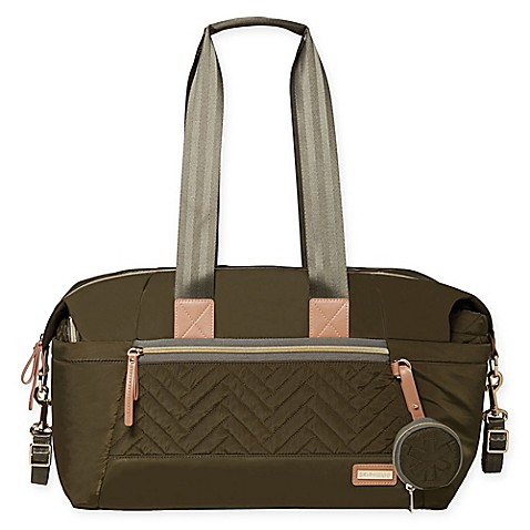 SKIP*HOP® Suite 7-Piece Diaper Bag Set in Olive