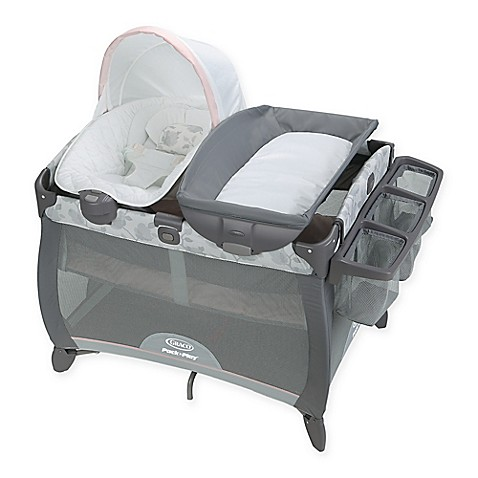 Graco 174 Pack N Play 174 Quick Connect Portable Napper Deluxe